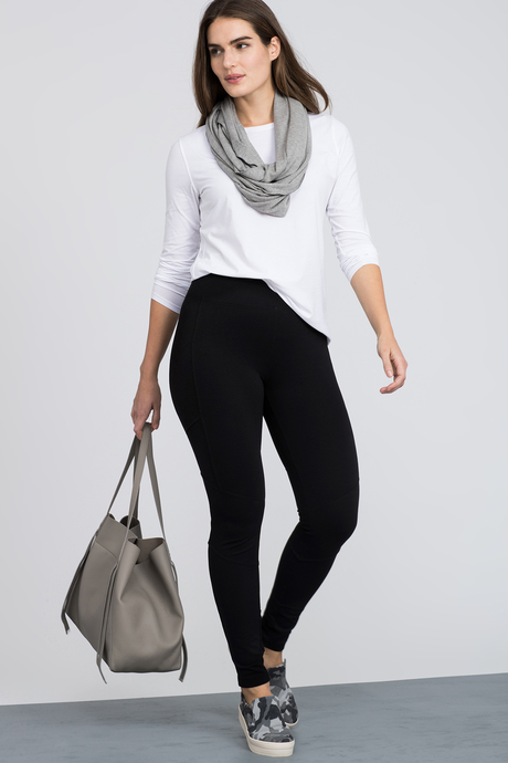 Moto legging side