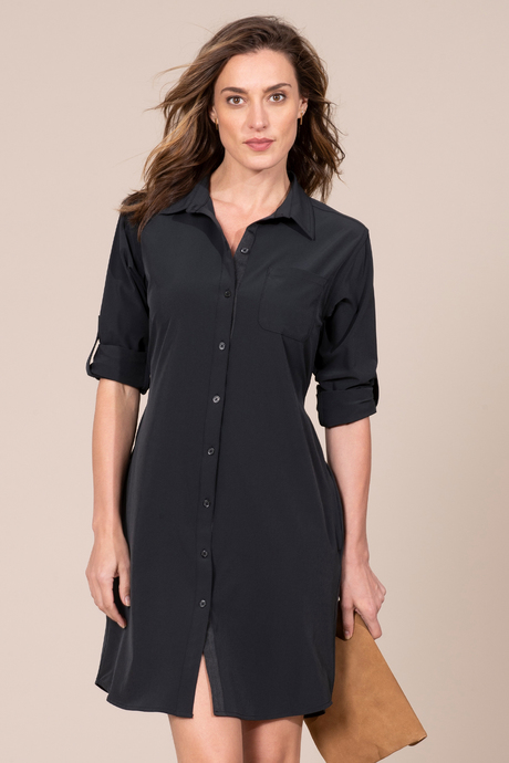 Au19 ecommimages safarishirtdress black front