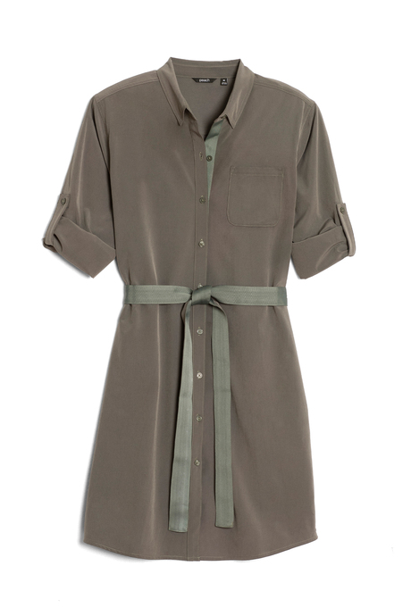 Au19 ecommimages safarishirtdress mossgreen pinup