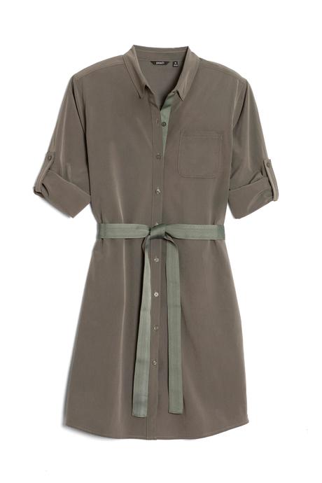 Au19 ecommimages safarishirtdress mossgreen pinup