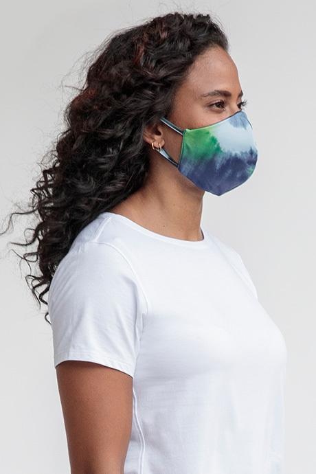 Facemask tiedye side