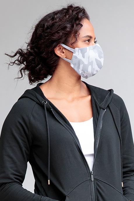 Facemask graycamo side