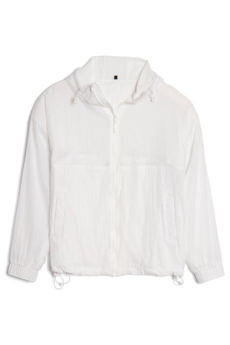 Mitsujacket white pinup