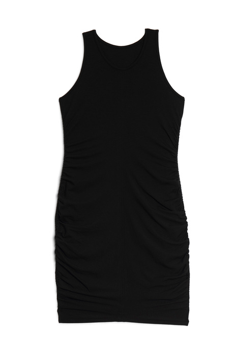 Yumidress black pinup front