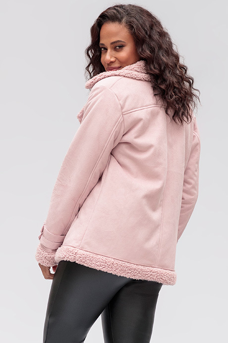 Aspenjacket dustylilac back
