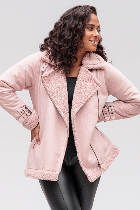 Aspenjacket dustylilac front2