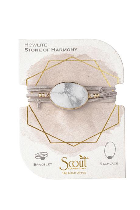 scout bracelet howlite