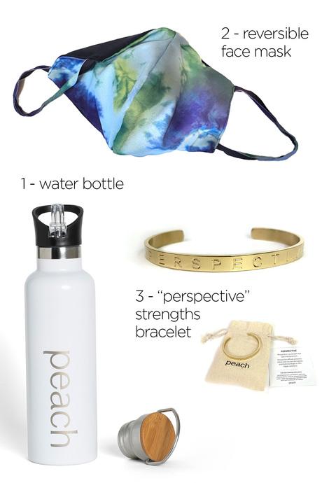 Waterbottle mask bracelet