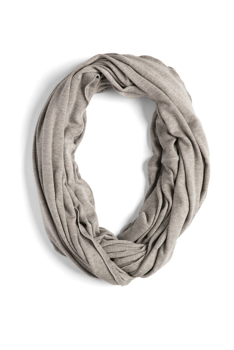 P019 infinity scarf gray  281 29