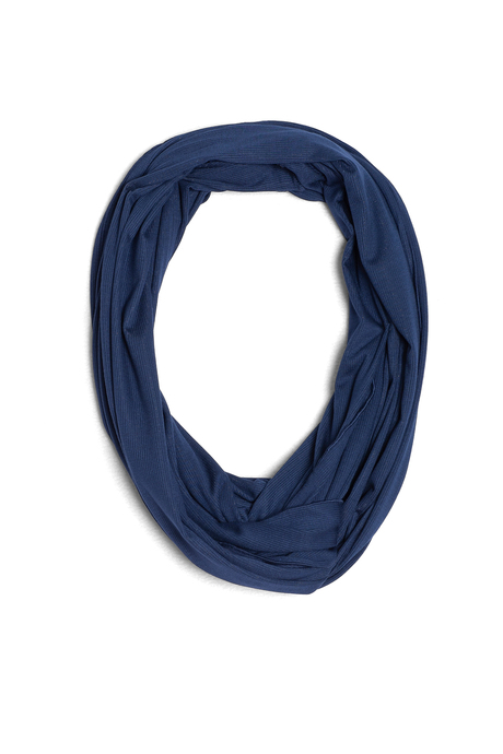 Infinity scarf navy pinup