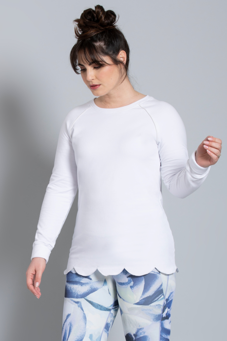 Provence pullover white 0027