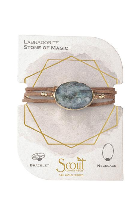 scout bracelet labradorite