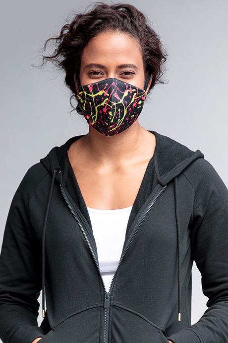 Facemask firefly front