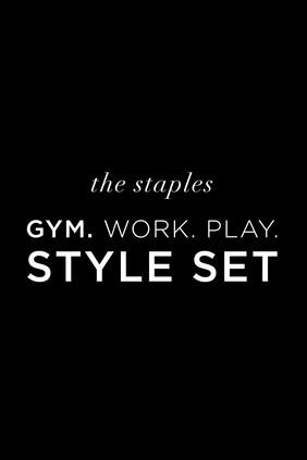 GYM. Work. Play. Style Set