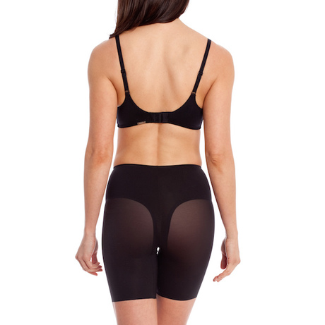 Long leg shaper black peach 0118