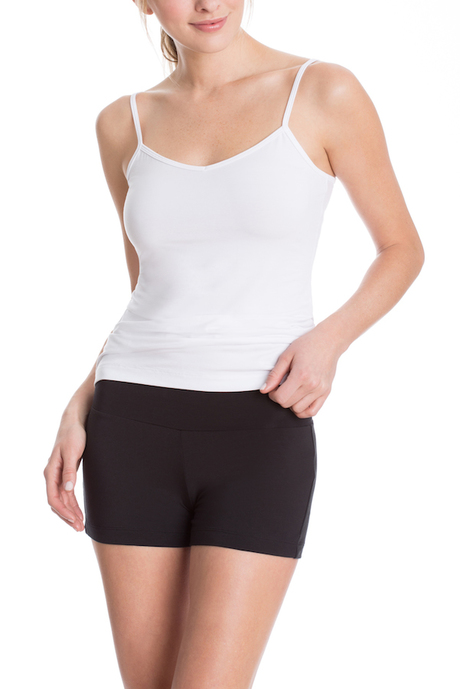 Black capri shorts 1 600x900