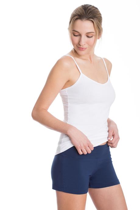 Navy capri shorts 2 600x900