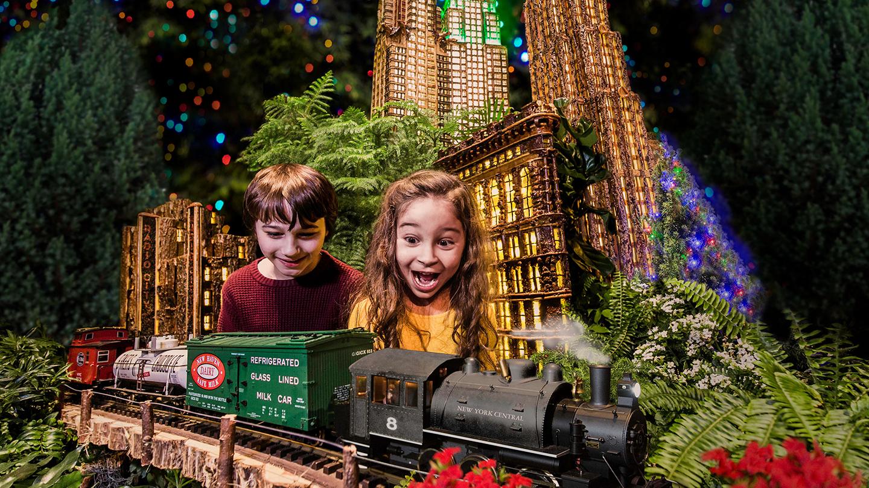 New York Botanical Garden's Holiday Train Show