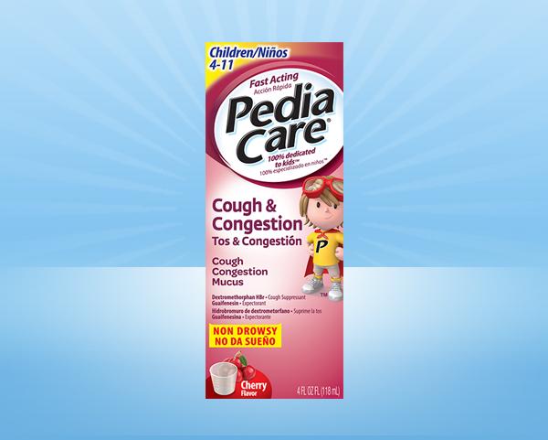 PediaCare® Children Cough & Congestion