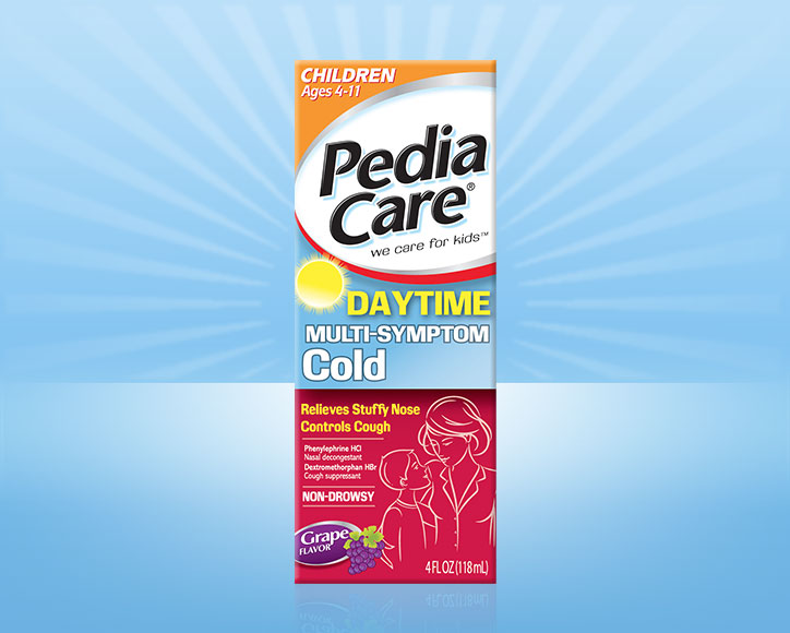 PediaCare® Children Multi-Symptom Cold (No Acetaminophen)