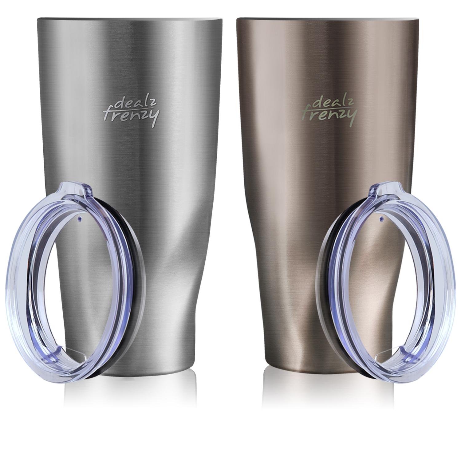 279b86b31d3 Winter Deals ! Double Wall Stainless Steel Wide Mouth Coffee Thermos Cup  with Lid, just $16.99
