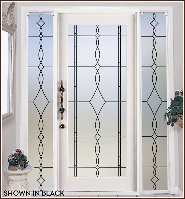 Allure Leaded Glass Privacy 32 X 86 Peerhub