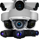 pelco sarix ip enhanced camera group shot