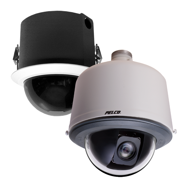 pelco spectra v series analog cameras indoor and outdoor domes