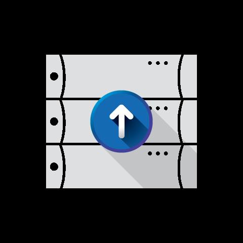 pelco server upgrade icon