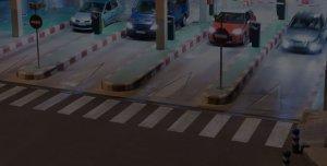 pelco parking lot alarm video expert plates