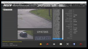 pelco video expert plates screenshot