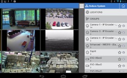 pelco mobile app screenshot