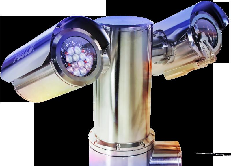 pelco exsite enhanced camera highlight image