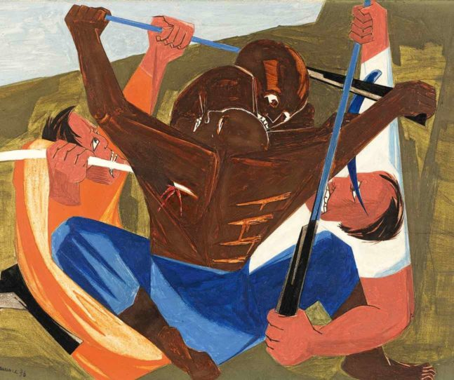 Jacob Lawrence's inclusive America