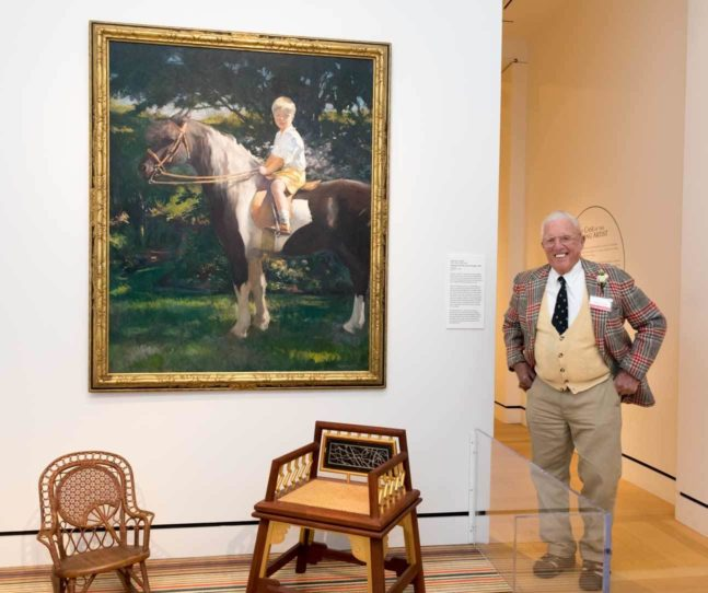 A boy and his pony: New painting enters PEM collection