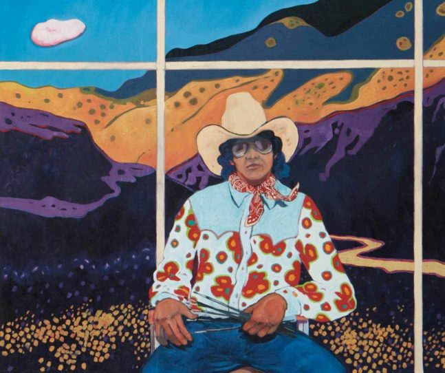 T.C. Cannon gave voice to the contemporary Native experience