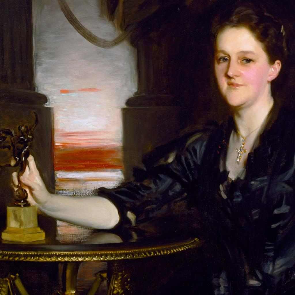 Portrait of Sarah Lawrence Brooks, 1890