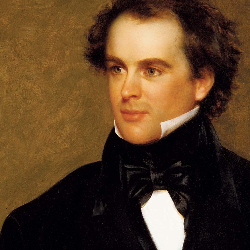 Portrait of Nathaniel Hawthorne, 1840