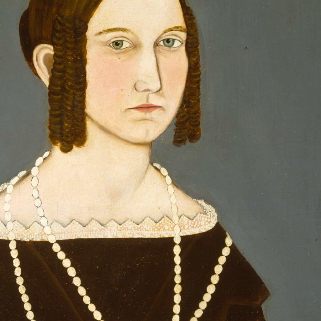 Portrait of Susan Burlingame, 1834