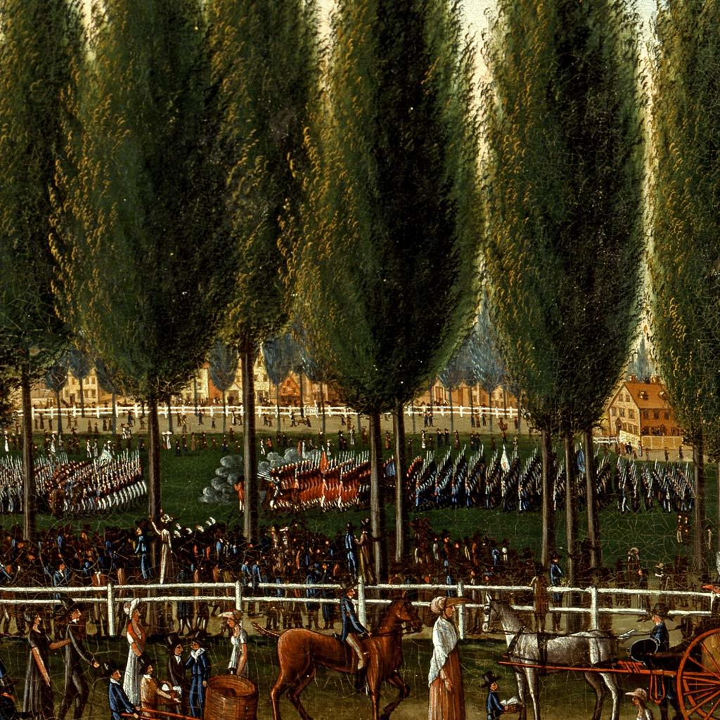 Salem Common on Training Day, 1808