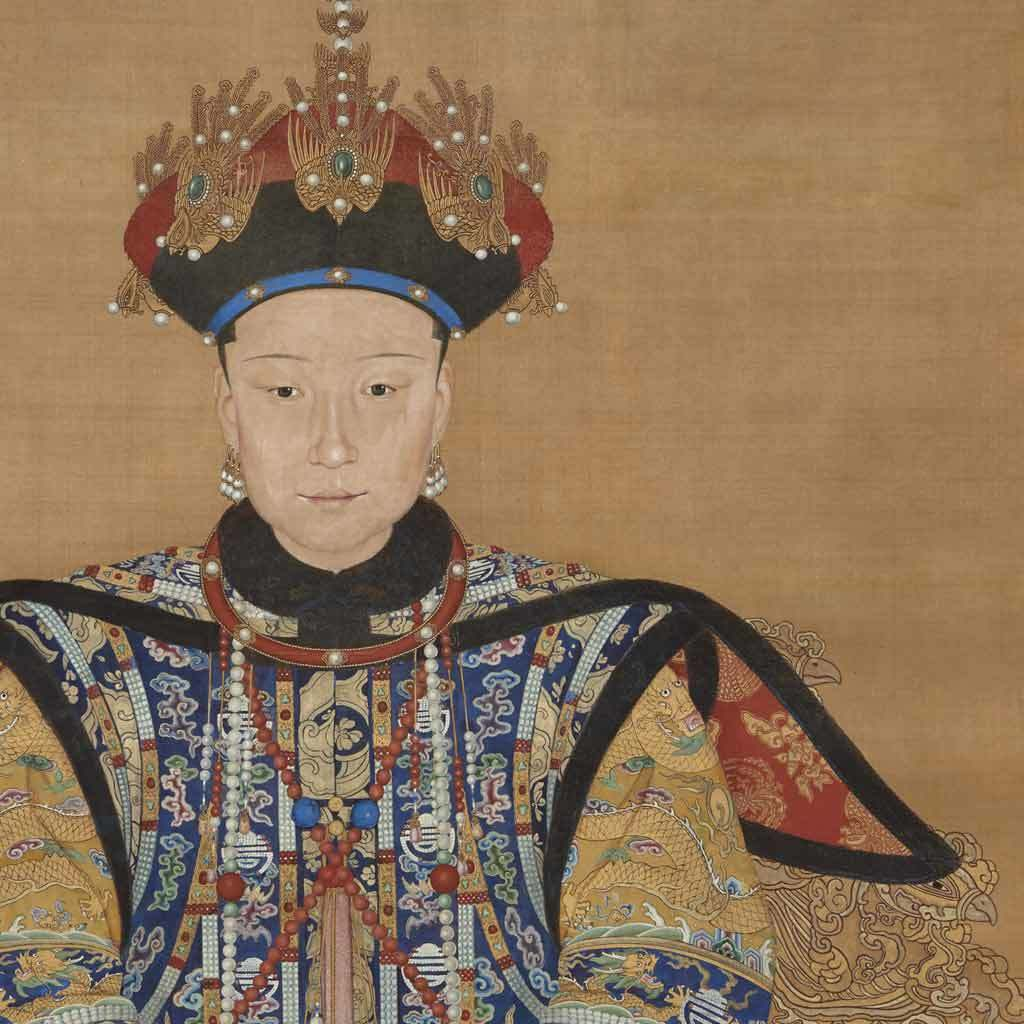 Portrait of Empress Xiaoxian Chun