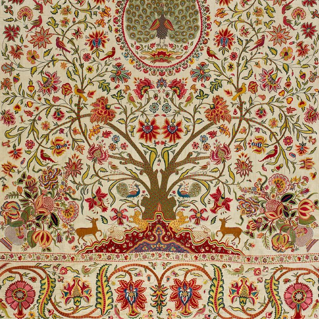 Bed cover, early 18th century
