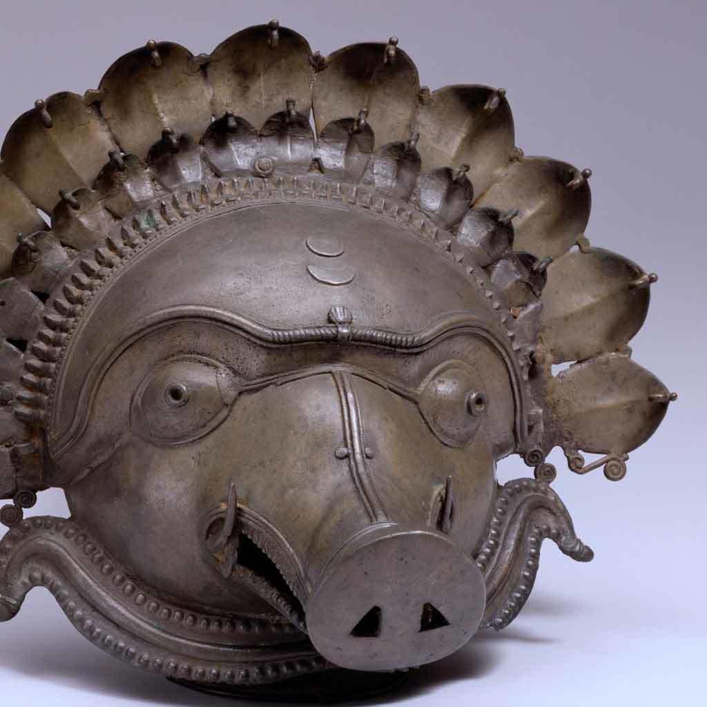 Mask of panjurli, 19th century