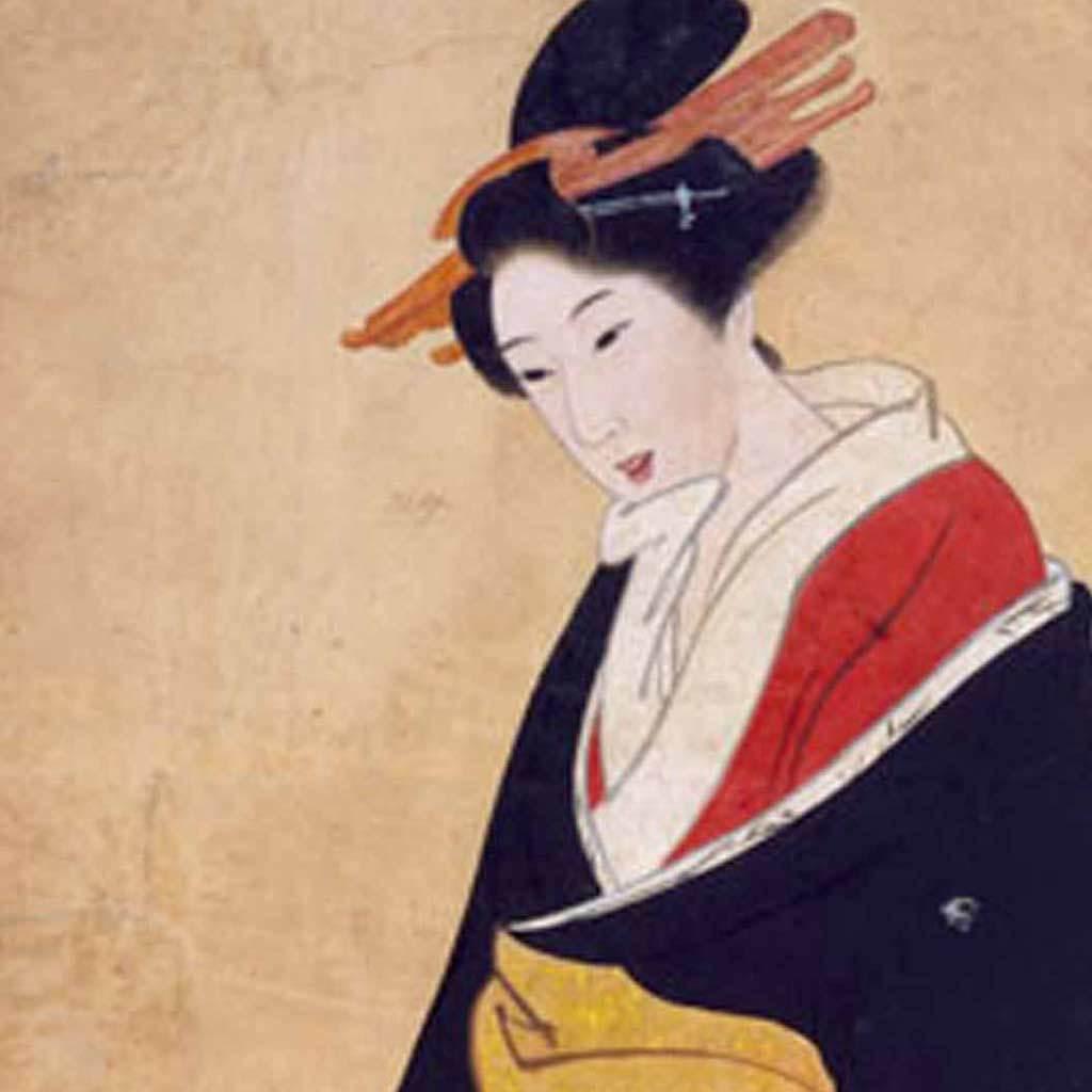 A Nagasaki Geisha, ca. 1800