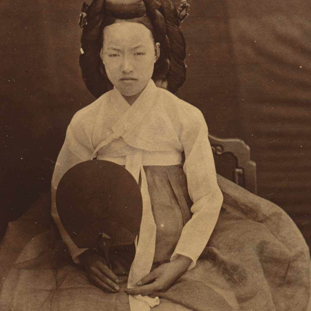 Portrait of a Woman (Possibly Empress Myeongseong)