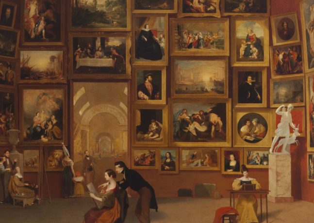 Samuel F.B. Morse's Gallery of the Louvre and the Art of Invention