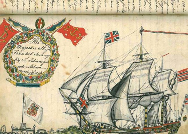 Written on the Waves: Shipboard Journals and Logbooks