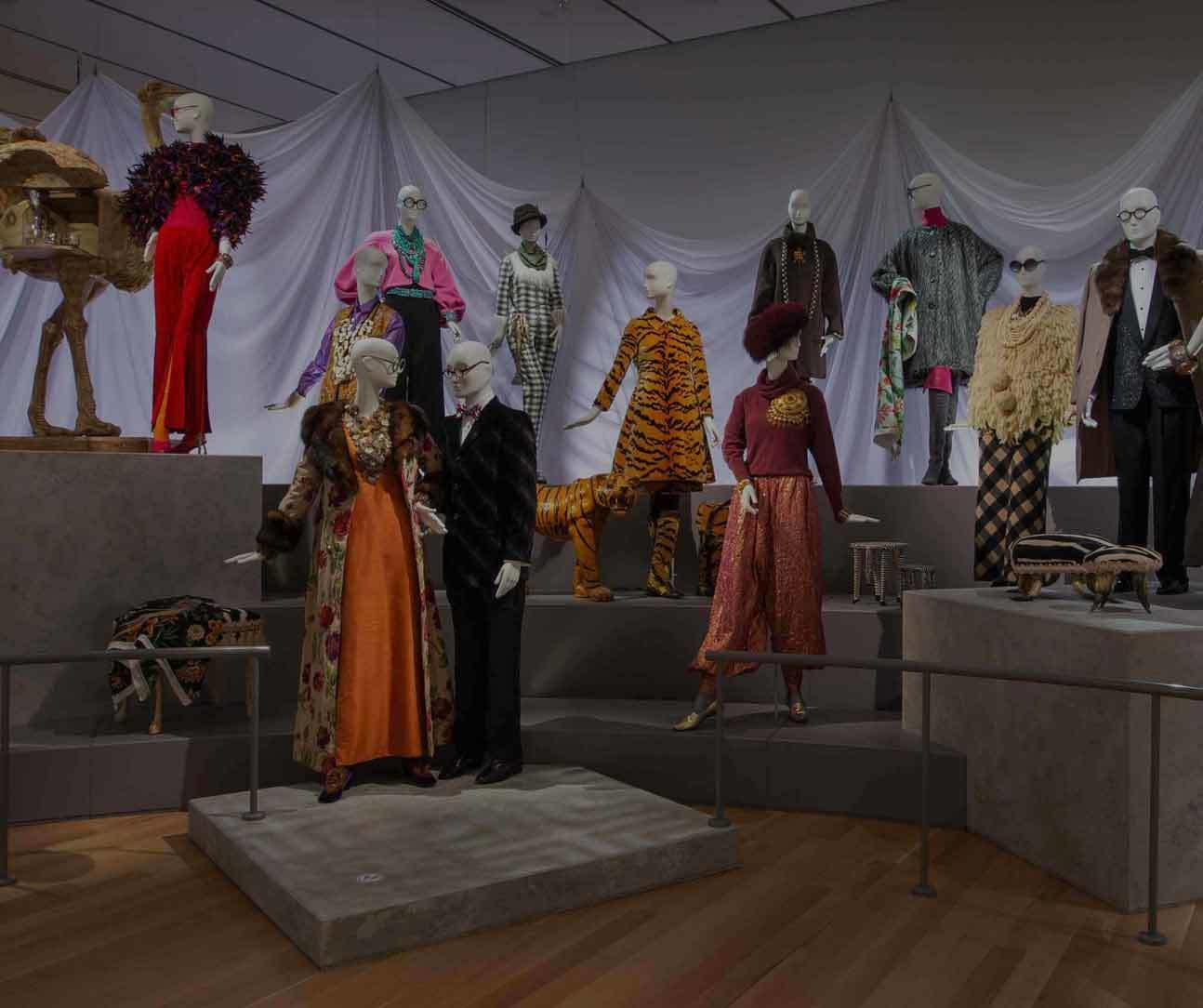 GenPEM Tour of the Carl and Iris Apfel Barell Gallery of Fashion and Design