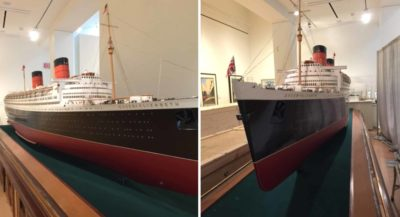 Bassett-Lowke Ltd., Model of Queen Elizabeth, 1947–48