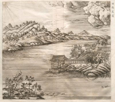 Early eighteenth century Chinese palace gardens